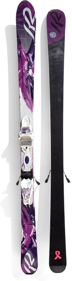 Ski and binding packaged deal for the all-terrain skier.