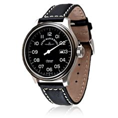 Zeno Watch Basel - UNO 47mm - The Zeno UNO 47mm with 42 hours power reserve is made to the highest of Swiss st...