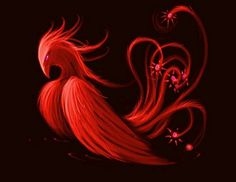 Phoenix, the Red Bird of the South, is one of the four spiritual creatures, it is guarding the South. The pheasant-phoenix (華蟲) is one of the Twelve Symbols of Sovereignty.