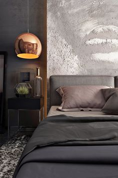 Bed stand Showcase and discover creative work on the world's leading online platform for creative industries. Home Decor Bedroom, Modern Bedroom, Bedroom Wall, Master Bedroom, Bed Stand, Beautiful Home Designs, Luxury Interior, Interiores Design, Decoration