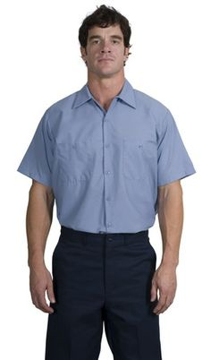 RedKap® - Short Sleeve Industrial Work Shirt. RedKap puts the toughest materials and advanced stay-clean technology into this shirt so you get the most out of it. This hardworking style is built to meet IL50 standards, which means it excels through 50 industrial launderings-Arizona Cap Company-(480) 661-0540 Custom Printed & Embroidered.Visit our site for colors available and the price