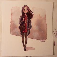 Ira Sluyterman van Langeweyde @iraville More watercolor t...Instagram photo | Websta (Webstagram)