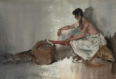Janelle - Sir William Russell Flint