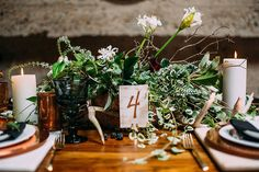 San Diego Style Weddings: Inspiration Thursday: The Whole World is a Secret Garden Winter Wedding Inspiration, Table Signs, Your Perfect, Wedding Signs, Candles, Table Decorations, Weddings, World, Tablescapes