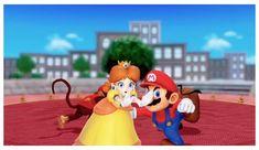 Screenshot of in (minigame called Slaparazzi). Can't wait for October! Super Mario Run, Super Mario Party, Super Mario World, Mario Kart 8, Mario Bros, Super Mario Sunshine, Princess Daisy, Super Smash Bros, Tomboy