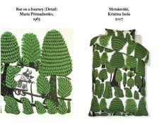 Feels Familiar? Maria Primachenko / Kristina Isola for Marimekko #Copy