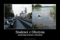 pozdrawiają studentów z Warszawy!