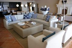 Fotos de salas de estilo moderno : penthouse hacienda | homify