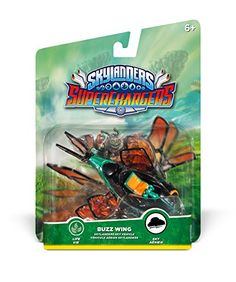 Skylanders SuperChargers Vehicle Buzz Wing Character Pack ** Continue to the product at the image link.Note:It is affiliate link to Amazon.