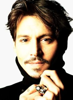 Johnny Depp by Matthew Rolston.