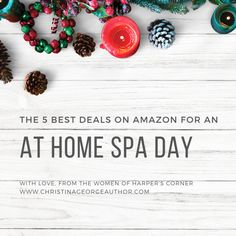 Your own at-home spa day! Sweet! The Coven's 5 Best Deals on Amazon to Give Yourself a Spa Day - Christina George