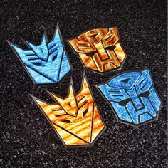 New to craftapplique on Etsy: Transformers Autobots Optimus Prime Decepticons patch Cartoon patch patch Applique embroidered patches iron on patch sew on patch  (A70) (3.90 USD)