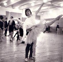 Carla Fracci and Rudolph Nureyev