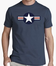 Camiseta USAF - nº 521294 - Camisetas latostadora