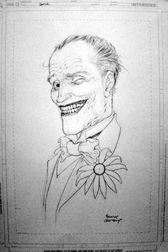 The Joker by Frank Quitely *