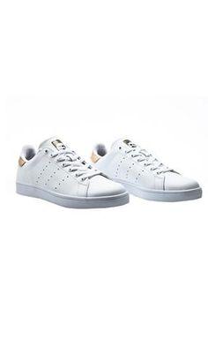 Adidas Stan Smith Vulc White/Gold - Fuel Clothing