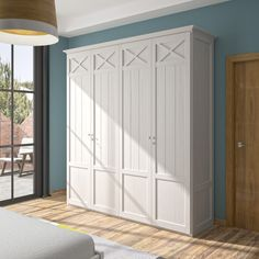 LRA Furniture-Customize this beautiful wardrobe to your style by selecting your favorite wood finish from our large collection. Bedroom Closet Storage, Interior Decorating, Interior Design, Shabby Chic Decor, Home Renovation, Wood Furniture, Tall Cabinet Storage, Bedroom Decor, House Design