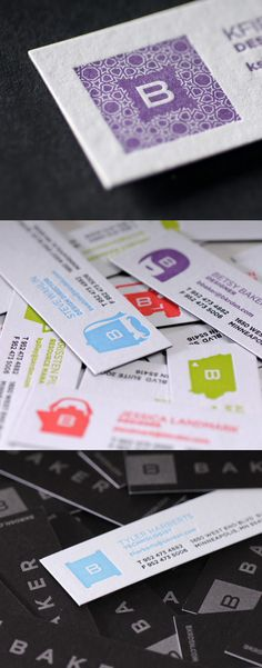 Duplexed Letterpress Cards