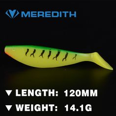 3.44$  Buy now - http://aliaul.shopchina.info/go.php?t=32273595839 - MEREDITH lure JX51-12 Retail hot model  4pcs 120mm 14.1g Artificial bait fish Fishing soft Lures 3.44$ #SHOPPING