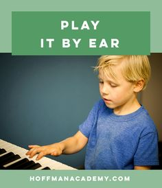 Playing by ear and reading music go hand in hand to open up the entire world of music learning, performance, and enjoyment. Make sure to take some time to develop both of these essential skills.