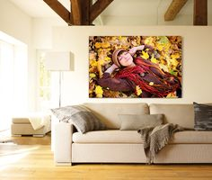 Ein Herbsttag fürs ganze Jahr: http://www.cewe-fotobuch.at/produkte/wanddekoration/ #diy #wanddeko #herbst #autumn