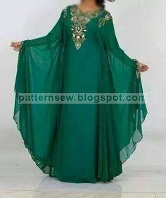 Ffa, Pakistani Cape Dresses, Abaya Pattern, Moslem Fashion, Arabic Dress, Fashion Sewing, Diy Fashion, Fashion Ideas, Abaya Designs