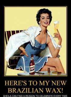 Relax Wax & Wine. $25 Brazilians every Wed 9-7   www.keytobeauty.net