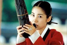 Chi-hwa-seon or Chwi-hwa-seon, (also known as Painted Fire, Strokes of Fire or Drunk on Women and Poetry), is a 2002 South Korean drama film directed by Im Kwon-taek about Jang Seung-up (Oh-won), a nineteenth-century Korean painter who changed the direction of Korean art. 유호정 생황 연주