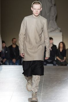 Rick Owens Fall 2014 Menswear Collection Slideshow on Style.com
