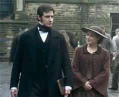 John Thornton) & Daniela Denby-Ashe (Margaret Hale) - North & South directed by Brian Percival (TV, Mini-Series, BBC, Elizabeth Gaskell, North And South, Masterpiece Theater, Masterpiece Mystery, John Thornton, Look Back At Me, Movie Couples, Richard Armitage, Pride And Prejudice