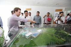 Manuel Velasco inaugura primera etapa de nuevo centro de formación docente