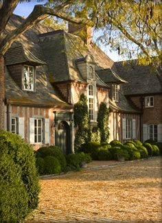 Gabled gorgeousness in this French Norman style home. This beautiful home reflects the stature of the fictional Delito family estate. One day, a charmed life, next day, dragged to the ASYLUM, dark suspense saga. Where books are sold. Visit: http://dreamwatch.com/dreamwatch-press/asylum/