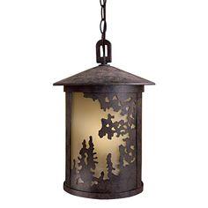 Sunset Ranch 1-Light Outdoor Hanging Lantern