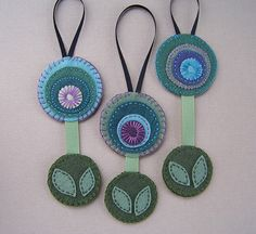 funky flower ornaments | Flickr - Photo Sharing!