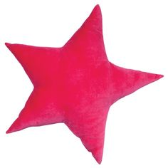 Star Velvet Cushion - Hot Pink – Shut the Front Door! online