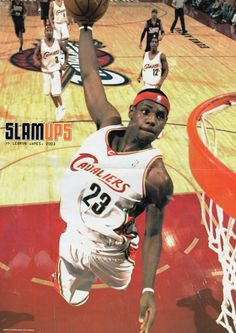Young King James King James, Lebron James, Basketball Court, Baseball Cards, Sports, Hs Sports, Sport, Exercise