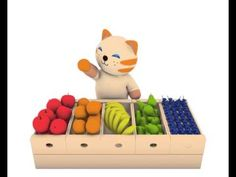 Patrick n friends: As cores das frutas