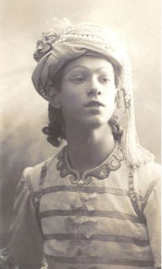 "Nijinsky in ""Le Talisman"" - Vayu the God of wind"