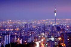 Tehran Skyline #Tehran #skyline #Iran #Iranian #Persia #Persian #night #Milad #tower #tourism #mustseeIran #beauty #travel