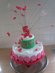 verjaardags taart vlinders