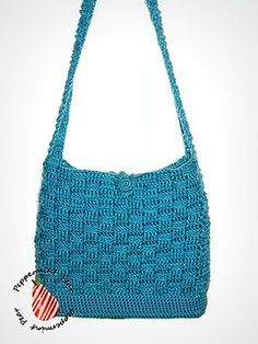 Basket Weave Bag By Stacey Chaffee - Free Crochet Pattern - (ravelry)