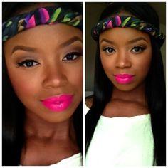 makeup for black women tumblr - Google Search