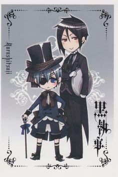 Kuroshitsuji - Ciel Phantomhive & Sebastian Michaelis