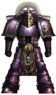 Pre-heresy era Emperors Children Praetorian