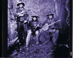 """""""Tinprint"""" of Stobrod, other musicians from movie Cold Mountain"""