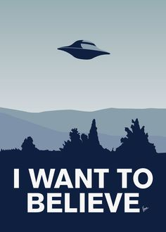 My X-files: I want to believe poster Art Print by Chungkong