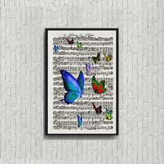 Instant Digital download of  butterfly by VintageLithoArt on Etsy