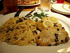 California Pizza Kitchen Copycat Recipes: Chicken Piccata...I just had this last night--so glad I can now make at home!