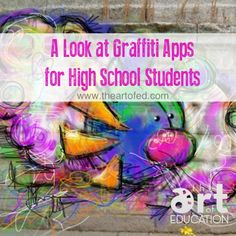 A great review of graffiti apps for secondary students!