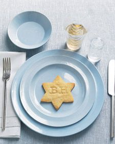 Monogrammed Hanukkah Cookies. #Hanukkah #Cookies #How-to #Ideas